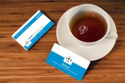 Business Card Tea