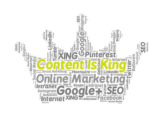 Online Marketing Content Is King