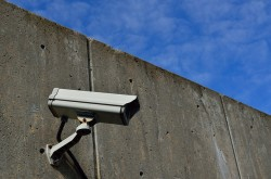 Security Camera CCTV Wall