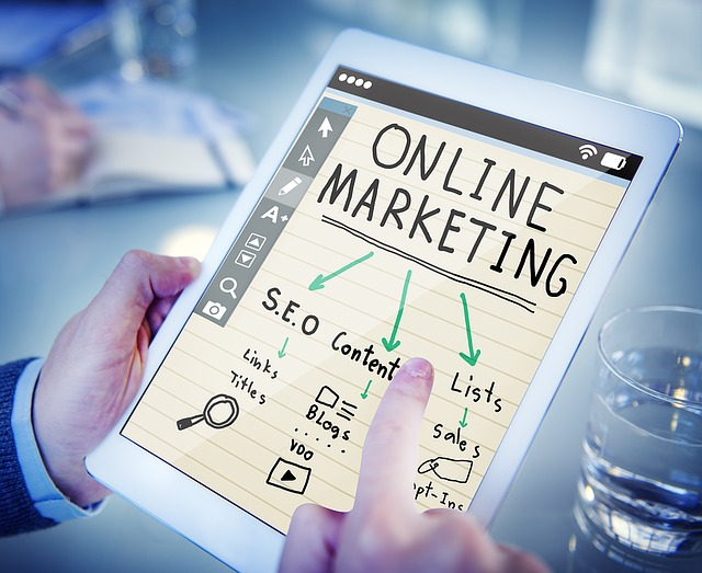 Online Marketing Tablet
