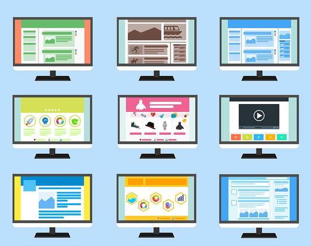 Websites Screens