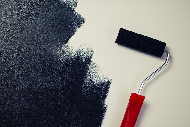 Black Painting Wall